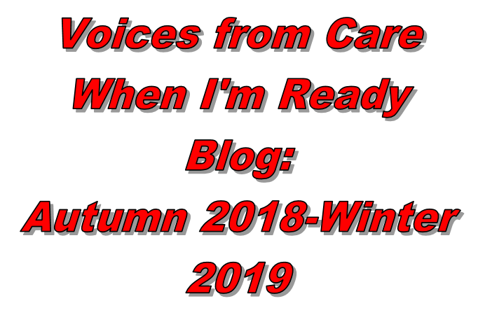 When I'm Ready: Autumn 2018 – Winter 2019